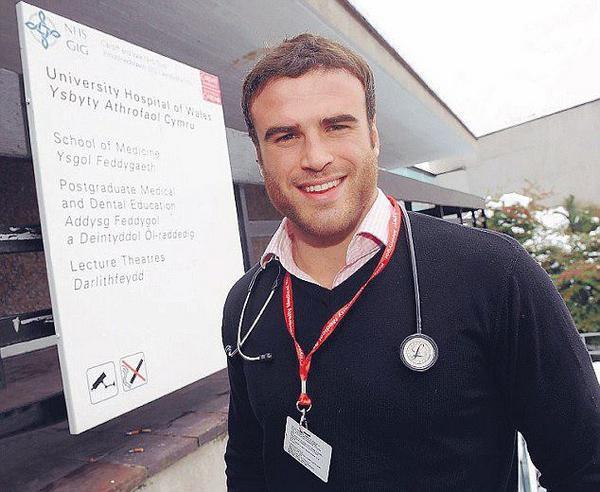 Jamie Roberts est docteur !