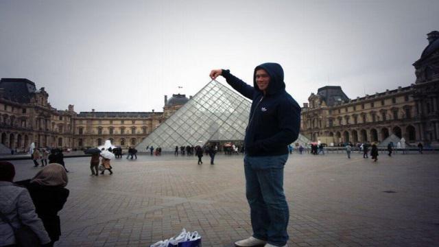 PHOTOS. Les Springboks se la jouent touristes à Paris