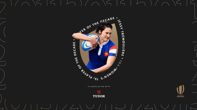 World Rugby Awards - Jessy Trémoulière élue Joueuse à XV de la Décennie, Safi N'Diaye honorée