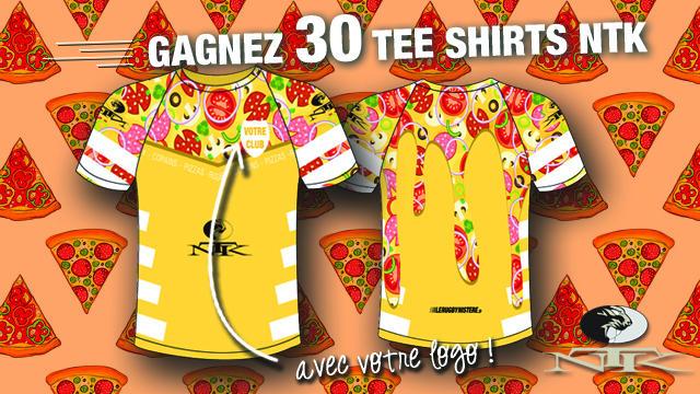 Annonce des vainqueurs du jeu concours : Tee Shirts NTK à vos couleurs !