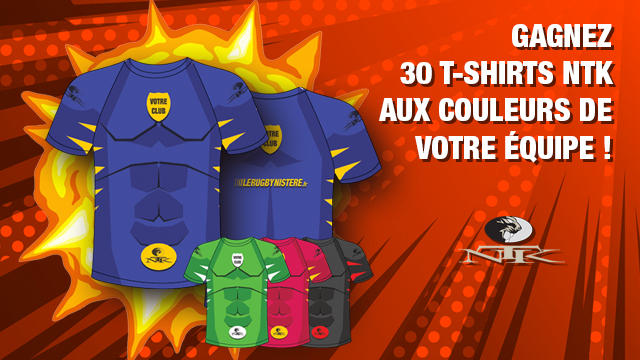 JEU-CONCOURS. Gagnez 30 tee shirts Super Héros NTK pour votre équipe avec votre logo !