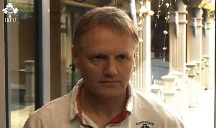 Joe Schmidt nouvel entraîneur de l'Irlande