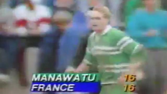 FLASHBACK. VIDEO. Les pattes de Joe Schmidt pour un essai oublié contre la France en 1989