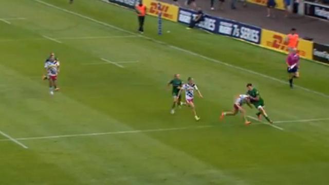 VIDEO. Johnny Williams, à peine 17 ans, fait parler la poudre dans ce Top 5 des essais du Premiership Rugby Sevens