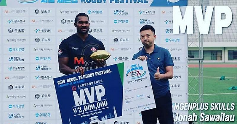 Des joueurs fidjiens exportent leur talent en Corée du Sud et rêvent de Coupe du monde
