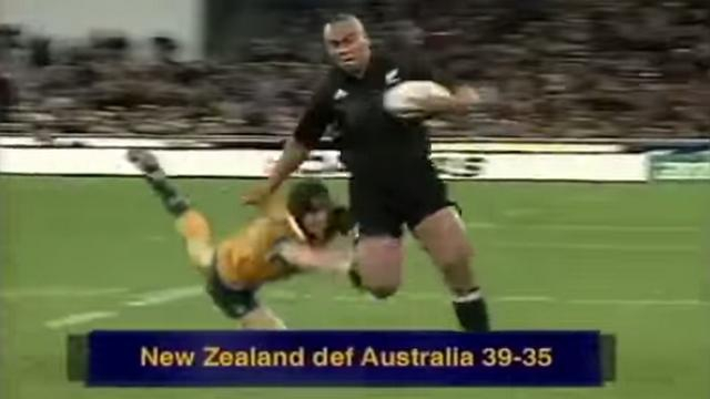 VIDEO. FLASHBACK. 2000. Jonah Lomu donne la victoire aux All Blacks après un match d'anthologie face aux Wallabies