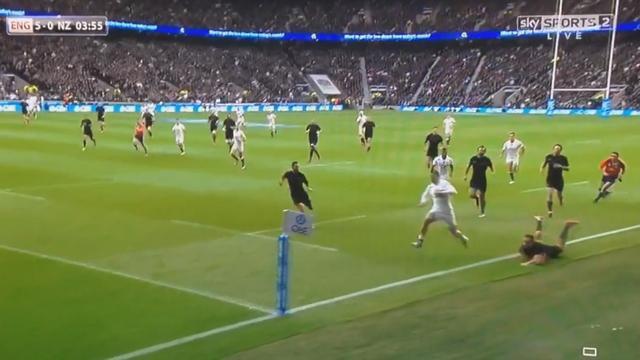 VIDEO. L'Angleterre s'incline face aux All Blacks malgré l'essai supersonique de Jonny May