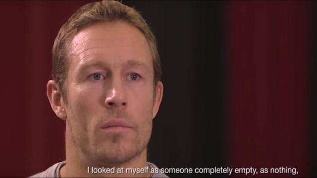 VIDEO. Jonny Wilkinson, touchant, se confie sur les difficultés de l'après-carrière