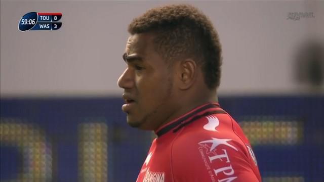 VIDEO. Challenge Cup - RCT. Excellent face aux Wasps Josua Tuisova a tapé dans l'œil du staff du XV de France