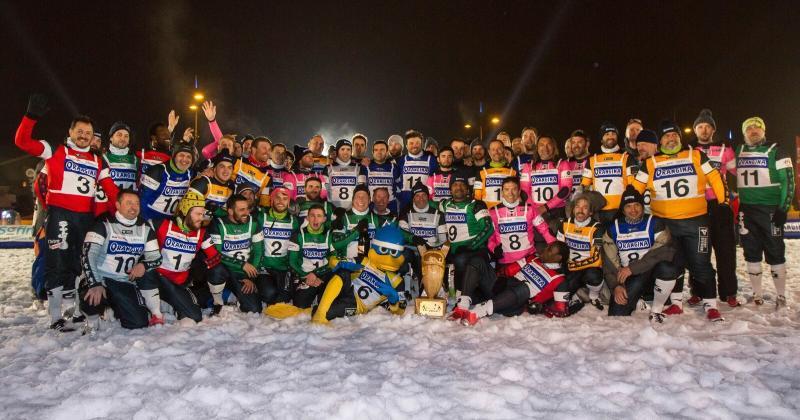 VIDÉO. Jour de finale, rugby sur neige et croziflette géante à Megève pour le Tournoi des 6 Stations