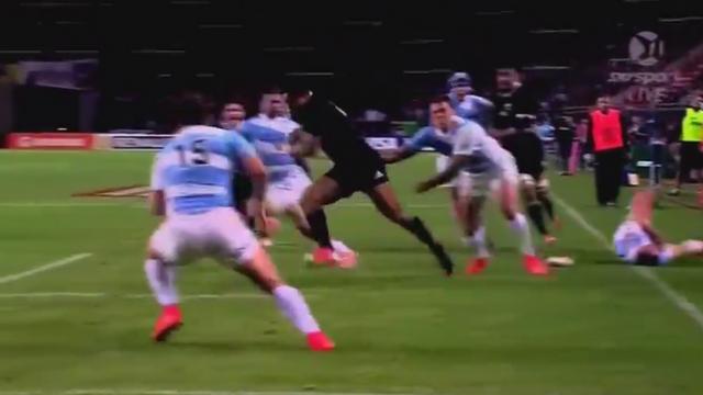 VIDEO. Les All Blacks remportent le Rugby Championship avec un Julian Savea en mode déménageur breton