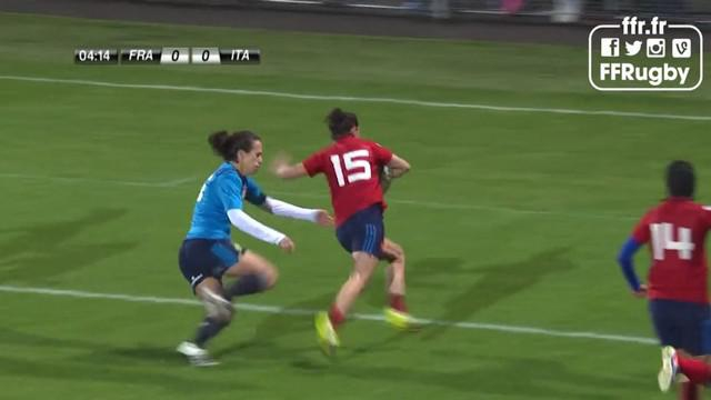 RESUME VIDEO. Tournoi des 6 Nations - France Féminines a remis les pendules à l'heure face à l'Italie