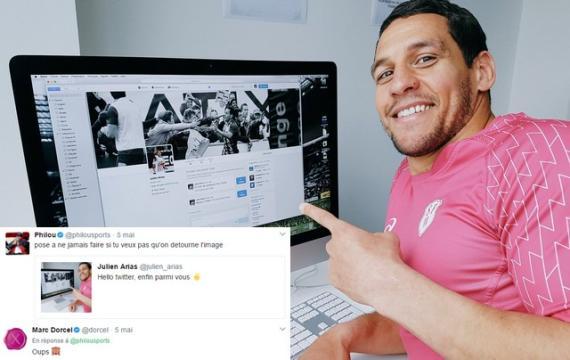 INSOLITE. Julien Arias débarque sur Twitter et se fait troller par le compte de Marc Dorcel