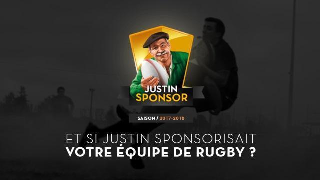 Vous cherchez un sponsor ? Gagnez un an de sponsoring pour votre équipe avec Justin Bridou