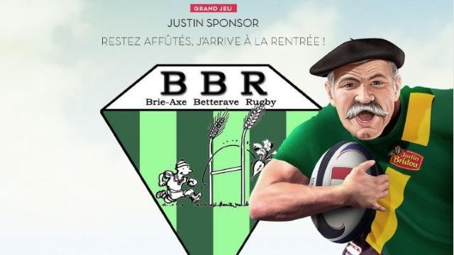 L'équipe de Brie-Axe Betterave Rugby remporte le jeu-concours de Justin Bridou