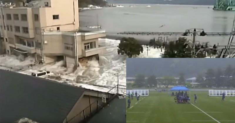 VIDEO. Coupe du monde 2019 - Kamaishi se reconstruit après le tsunami de 2011