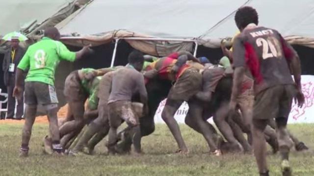 VIDEO. Insolite. Découvrez George Kariuki, le plus petit joueur de rugby de l'histoire