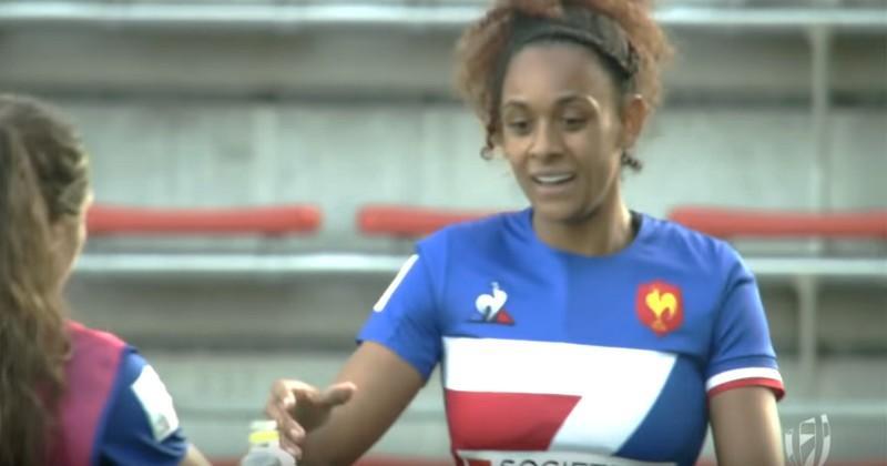 Kitakyushu 7s - Anne-Cécile Ciofani et Chloé Pelle dans l'équipe type du tournoi