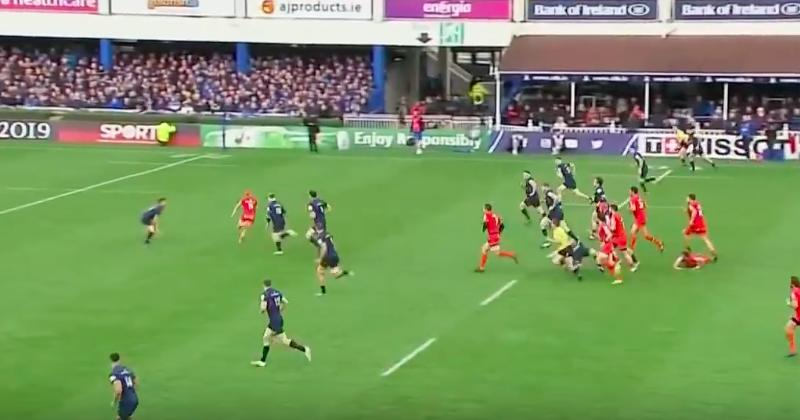 Comment le match Leinster VS Stade Toulousain a été vécu par les réseaux sociaux ?