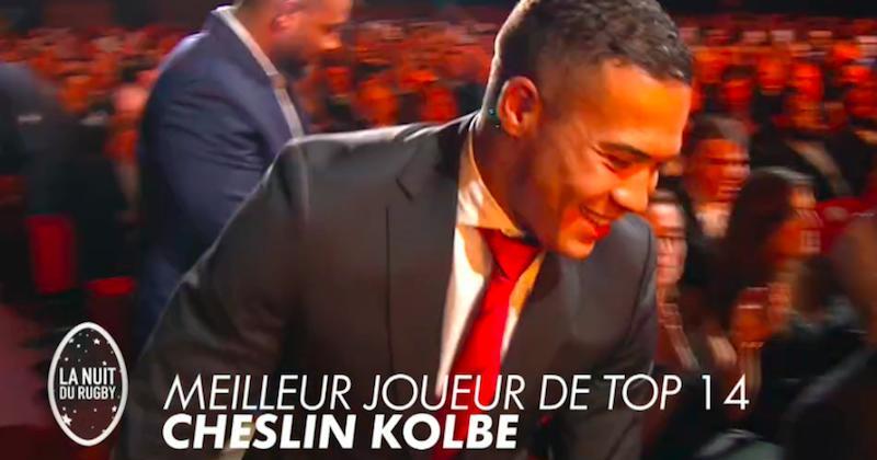 16e nuit du rugby - Et le meilleur joueur de Top 14 est...CHESLIN KOLBE !