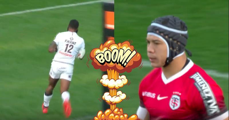 Radradra et Kolbe se répondent coup pour coup dans ce derby de la Garonne [Vidéo]