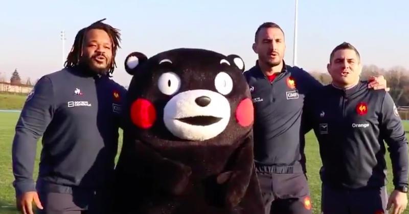WTF - La folle journée de la mascotte Kumamon à Marcoussis