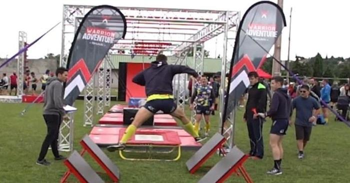 Kung Fu Panda a testé le Warrior Adventure pour le Rugby No Limit