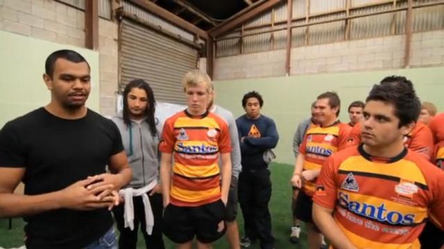 Le rugby, la chance d'une vie meilleure pour les jeunes aborigènes d'Australie