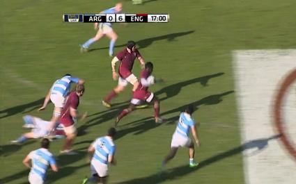 RESUME VIDEO. Christian Wade et le XV de la Rose mettent la fessée aux Argentins