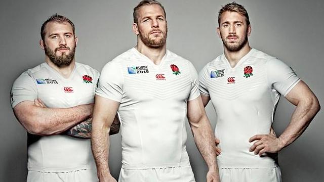 L'Angleterre dévoile son nouveau maillot pour la Coupe du monde 2015