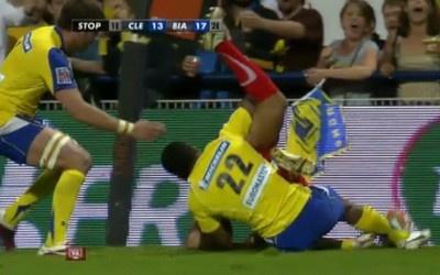 L'arbitre vidéo a transpiré pour le barrage Clermont vs Biarritz