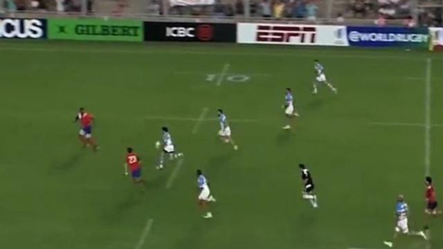 VIDEO. 6 Nations des Amériques : l'Argentine déroule grâce à un rugby toujours plus offensif