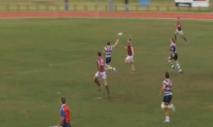 VIDEO. L'essai splendide venu d'un match régional en Australie