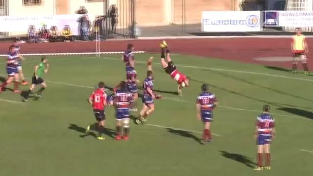 VIDEO. Fédérale 1. Devon James Lailvaux s'envole pour l'essai de Chambéry face à Grasse