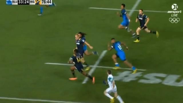 VIDEO. Super 18. Les Highlanders lancent la saison de Super Rugby avec un superbe essai de 70m