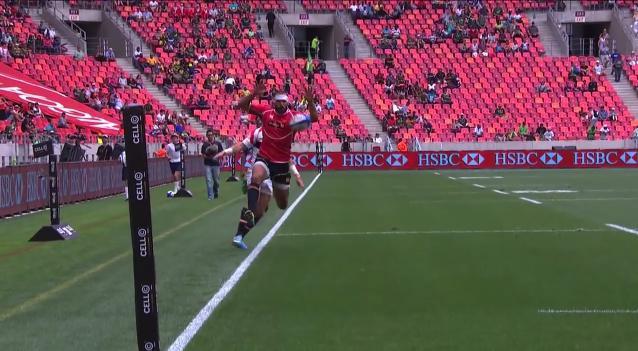 VIDEO. Ignacio Martin jongle pour l'essai de l'année en rugby à 7