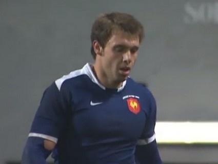L'essai de Vincent Clerc lors de France vs Afrique du Sud