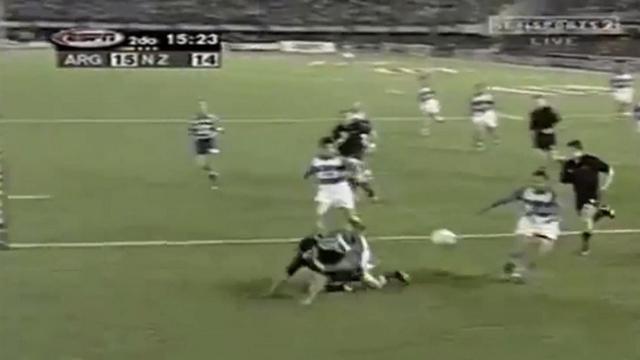 FLASHBACK. 2001 : l'essai le plus vilain encaissé par les All Blacks ?