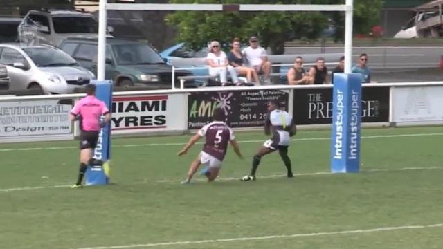VIDEO. Rugby amateur #89 : la célébration d'essai la plus arrogante de l'année ?