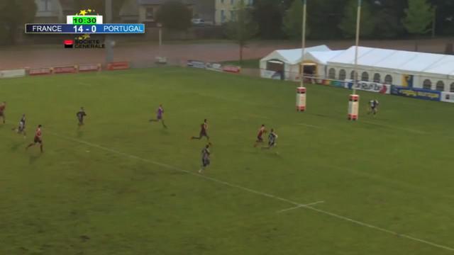 VIDEO. Rugby à 7. L'exploit majuscule d'Arthur Retière pour offrir le titre européen à France U19