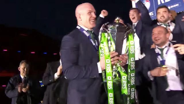 VIDÉO. L'Irlande punit l'Écosse à Murrayfield et remporte son 2ème Tournoi des VI Nations consécutif
