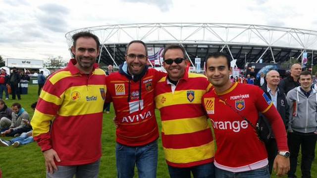 PHOTOS. INSOLITE. Des Catalans confondus avec des supporters roumains par l'organisation de la Coupe du monde