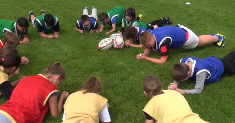 La bonne nouvelle du jour ? Le rugby va se développer dans le milieu scolaire !