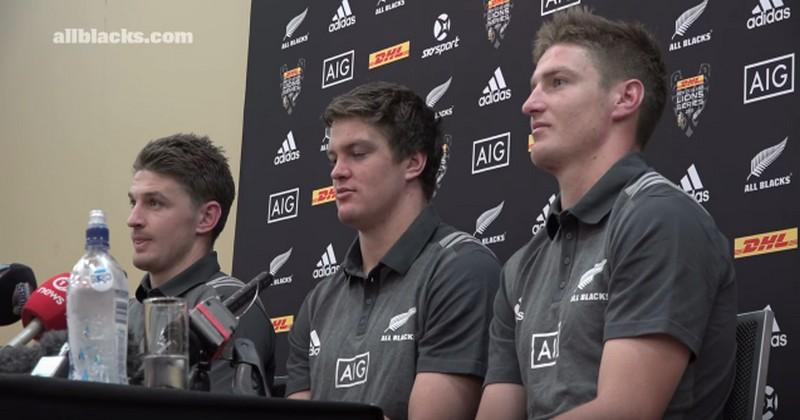 La composition des All Blacks pour le premier test-match face au XV de France