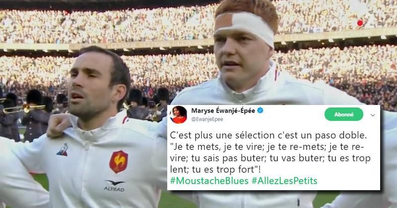 La composition du XV de France pour l'Ecosse vue par Twitter