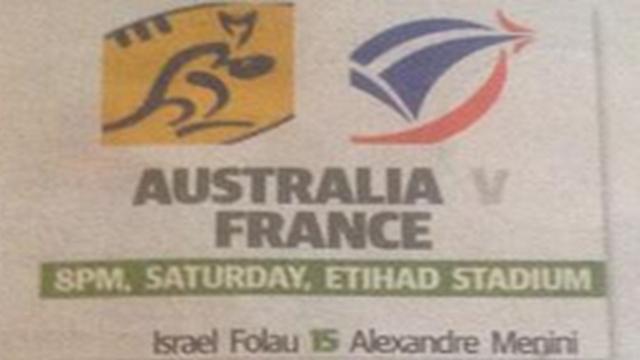 INSOLITE. Quand les Australiens proposent à Saint-André d'aligner Mathieu Bastareaud en pilier pour gagner le 2e test-match