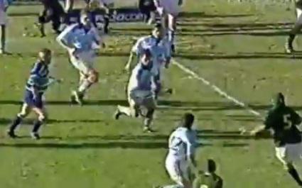 FLASHBACK. 2003. Le superbe essai à neuf passes et 90 m de l'Argentine face aux Boks