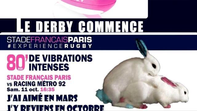 VIDEO. Top 14 - Stade Français. La contre-pub du Racing-Métro ne fait pas beaucoup rire Thomas Savare