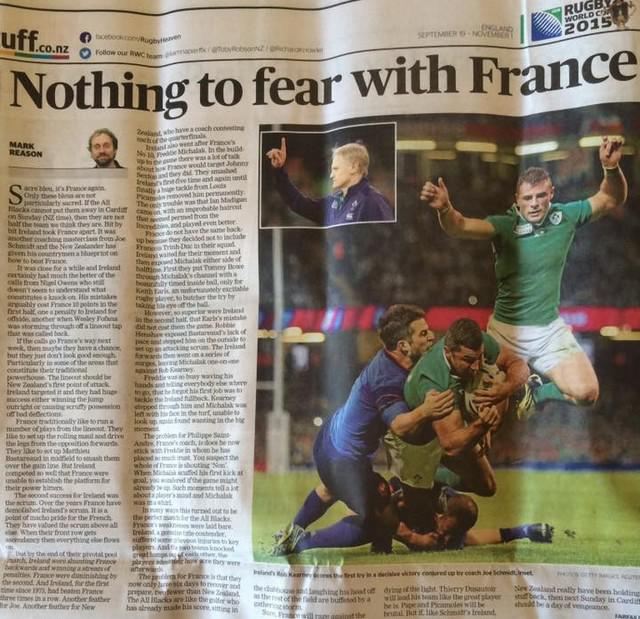 La Coupe autour du Monde #11 : L'oeil des Néo-Zélandais sur le XV de France avant le quart de finale face aux All Blacks
