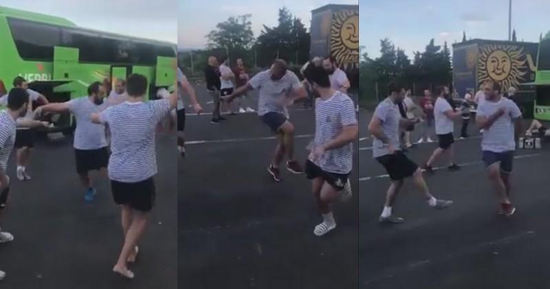 VIDEO. Honneur - La danse géorgienne endiablée des joueurs d'Auch